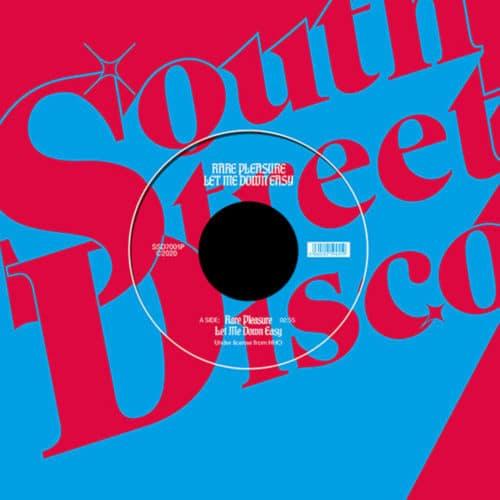"Rare Pleasure Let Me Down Easy South Street Disco 7"", Reissue, RSD2020 Vinyl"