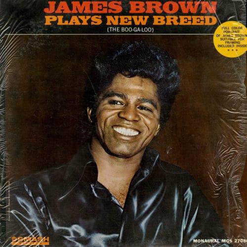 James Brown Plays New Breed Smash Records LP Vinyl