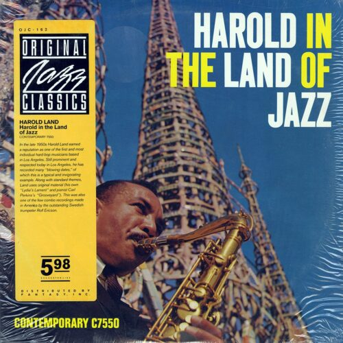 Harold Land Harold In The Land Of Jazz Original Jazz Classics LP, Reissue Vinyl