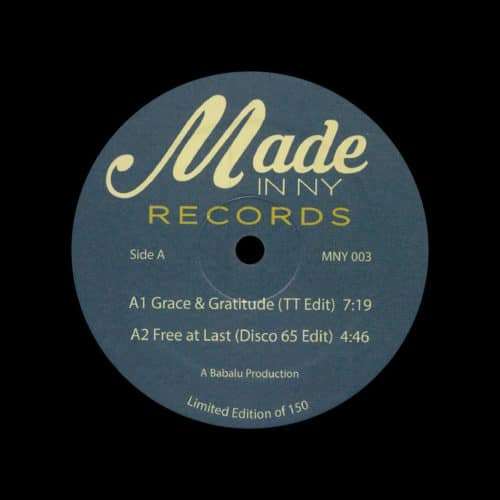 """Unknown MNY 003 Made In NY 12"""" Vinyl"""