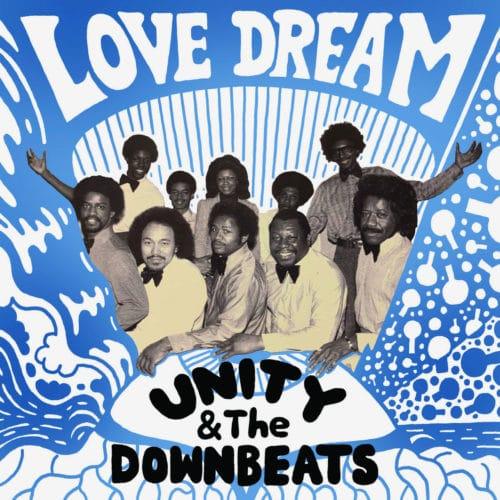 "Unity & The Downbeats Love Dream / High Voltage Fantasy Love Records 7"", Reissue Vinyl"