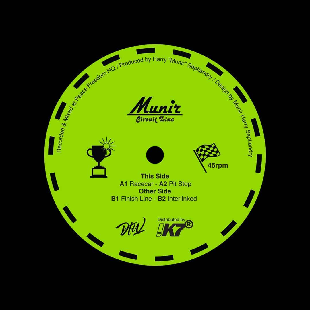 "Munir Circuit Line Darker Than Wax 12"" Vinyl"