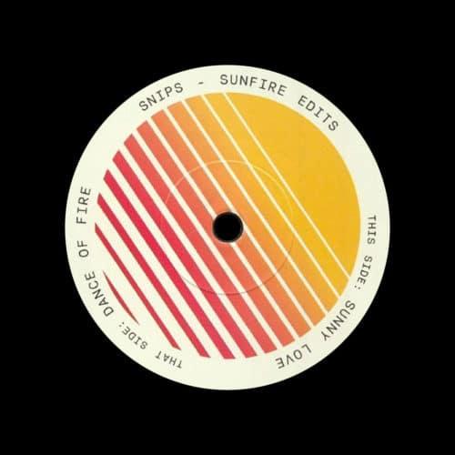 """Snips Sunfire Edits Barbershop Records 7"""" Vinyl"""