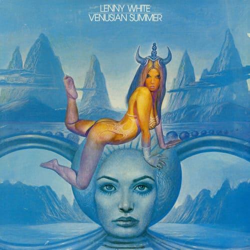 Lenny White Venusian Summer Nemperor Records LP Vinyl