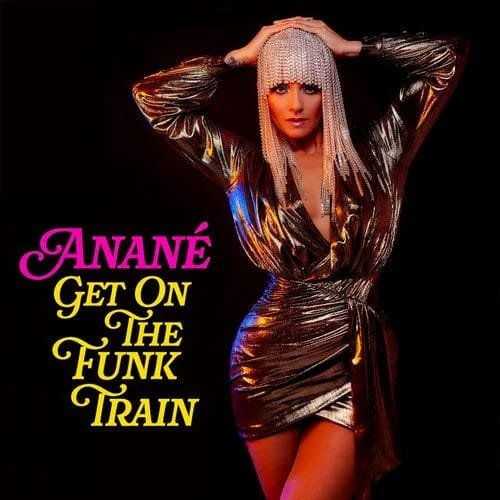 "Anané Get On The Funk Train Nervous Records 12"" Vinyl"