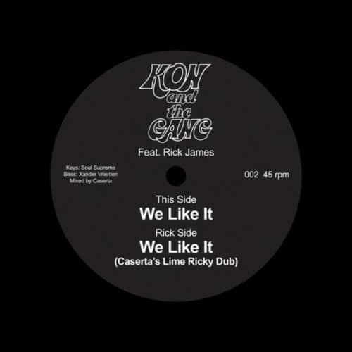 "Kon & The Gang We Like It Star Time 7"" Vinyl"