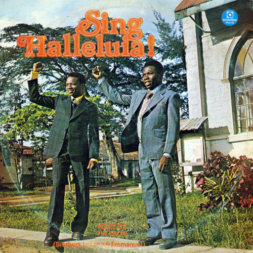 Voice Of The Cross Sing Halleluia Anodisc Records LP Vinyl