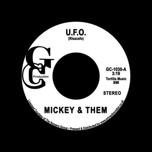 "Mickey & Them UFO / Hey, Brother Man GC Production 7"", Reissue, RSD2020 Vinyl"