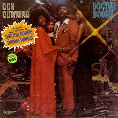Don Downing Doctor Boogie Roadshow LP Vinyl