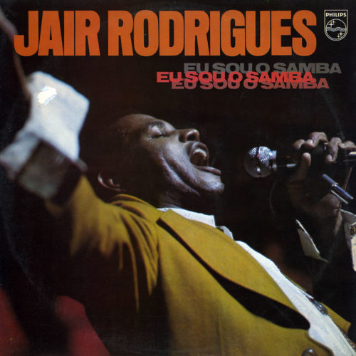 Jair Rodrigues Eu Sou O Samba Philips LP Vinyl
