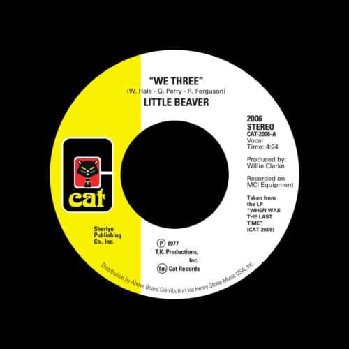 "Little Beaver We Three / Listen To My Heartbeat Cat, Reissue 7"", Reissue Vinyl"