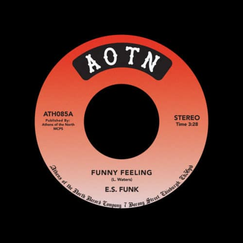 "E.S. Funk Funny Feeling / Shake Your Body Athens Of The North 7"", Reissue Vinyl"