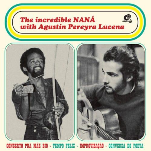 Agustin Pereyra Lucena, Naná Vasconcelos The Incredible Naná with Agustín Altercat Records LP, Reissue Vinyl