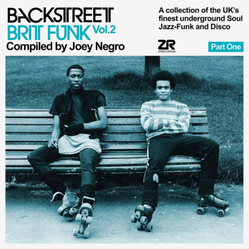 Various Joey Negro: Backstreet Brit Funk, Vol. 2 Z Records 2xLP, Compilation Vinyl
