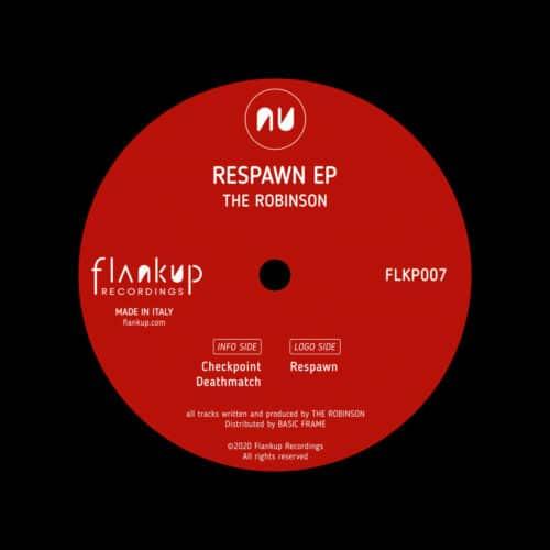"The Robinson Respawn EP Flankup Recordings 12"" Vinyl"