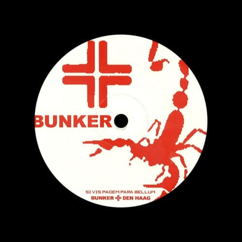 "Salamandos Master Of House Bunker Records 12"", Reissue Vinyl"