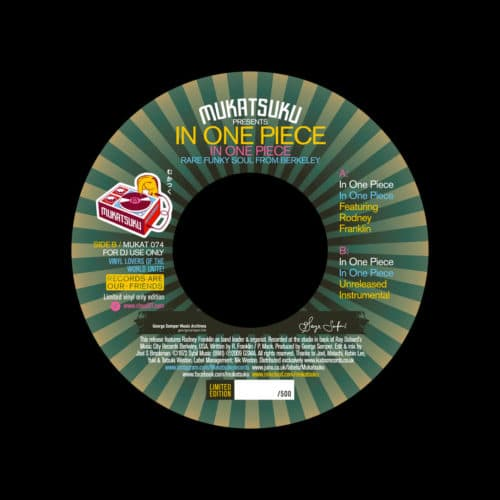 "In One Piece In One Piece Mukatsuku 7"" Vinyl"