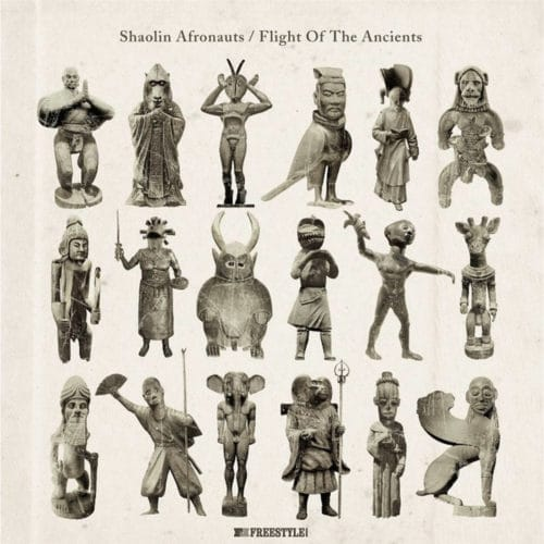 The Shaolin Afronauts Flight Of The Ancients Freestyle Records LP, Reissue, Repress Vinyl
