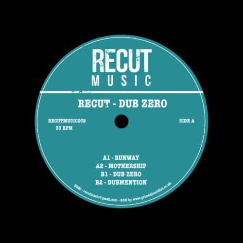 "Recut Dub Zero Recut 12"" Vinyl"