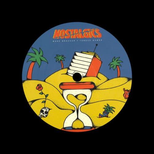 "Marc Brauner, Tender Games I Got What U Want / Energy / One Night In Paris Nostalgics 12"" Vinyl"