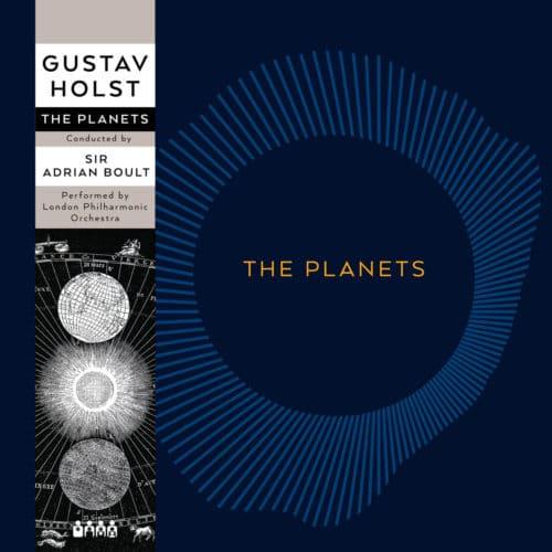 Gustav Holst The Planets Edit Futurum LP, Reissue Vinyl