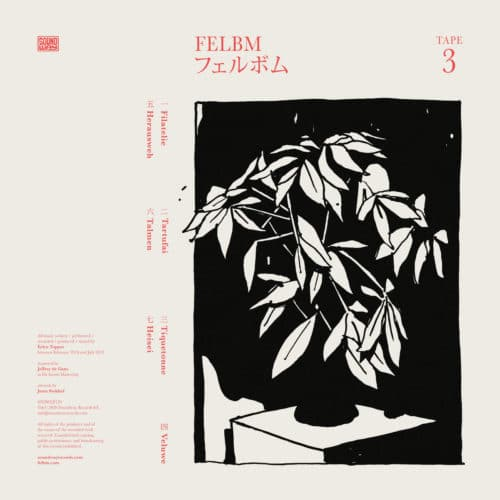 Felbm Tape 3 / Tape 4 Soundway LP Vinyl
