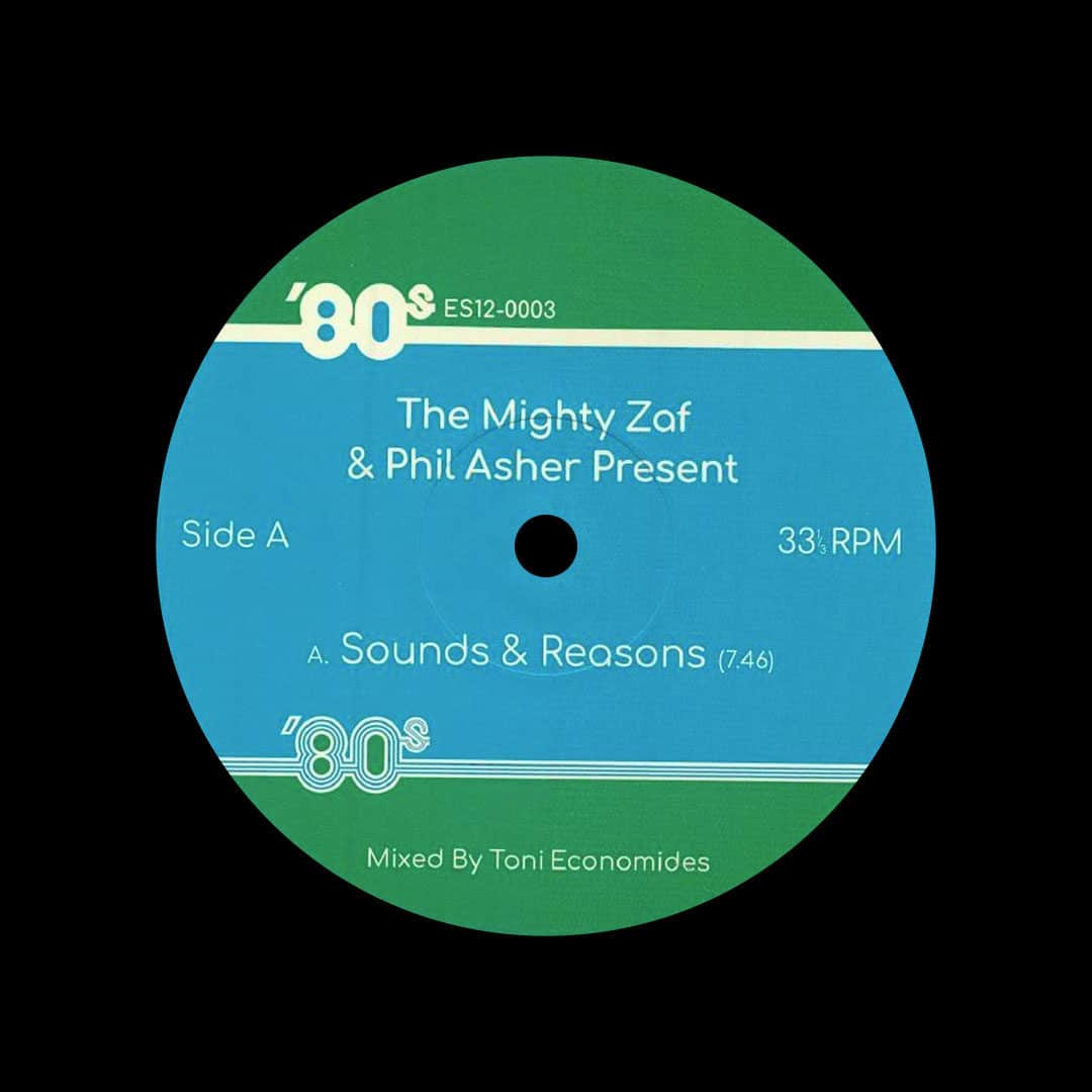 "Phil Asher, The Mighty Zaf 80's Edits, Vol. 3 80s 12"" Vinyl"