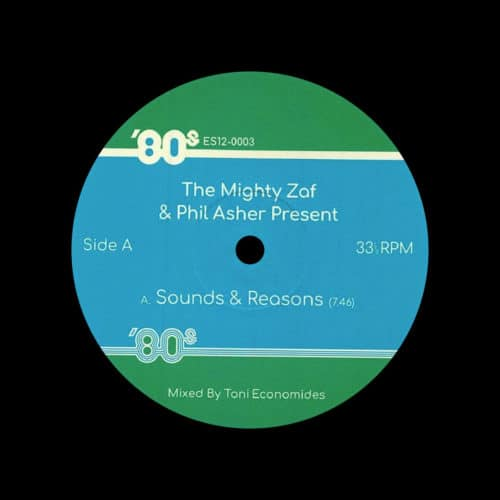 "Phil Asher, The Mighty Zaf 80's Edits, Vol. 3 80s 12"" Vinyl"