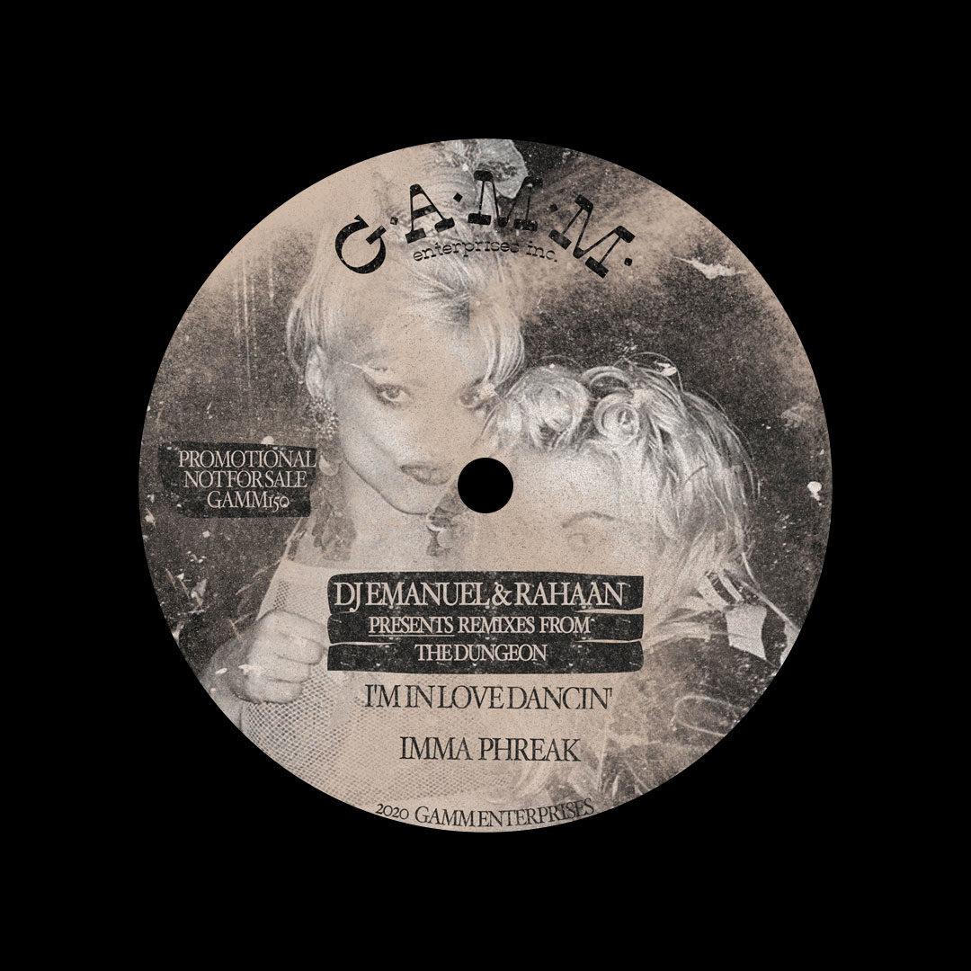 """DJ Emanuel, Rahaan Remixes From The Dungeon Gamm 12"""" Vinyl"""