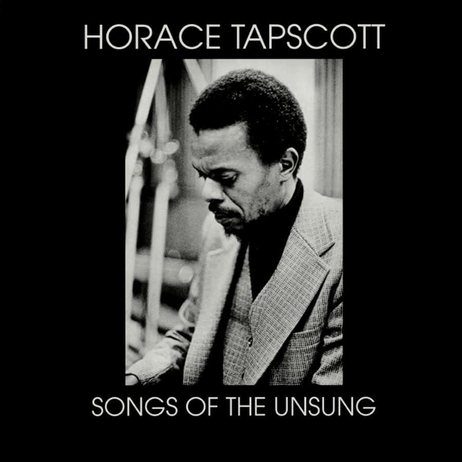 Horace Tapscott Songs Of The Unsung Survival Research LP, Reissue Vinyl