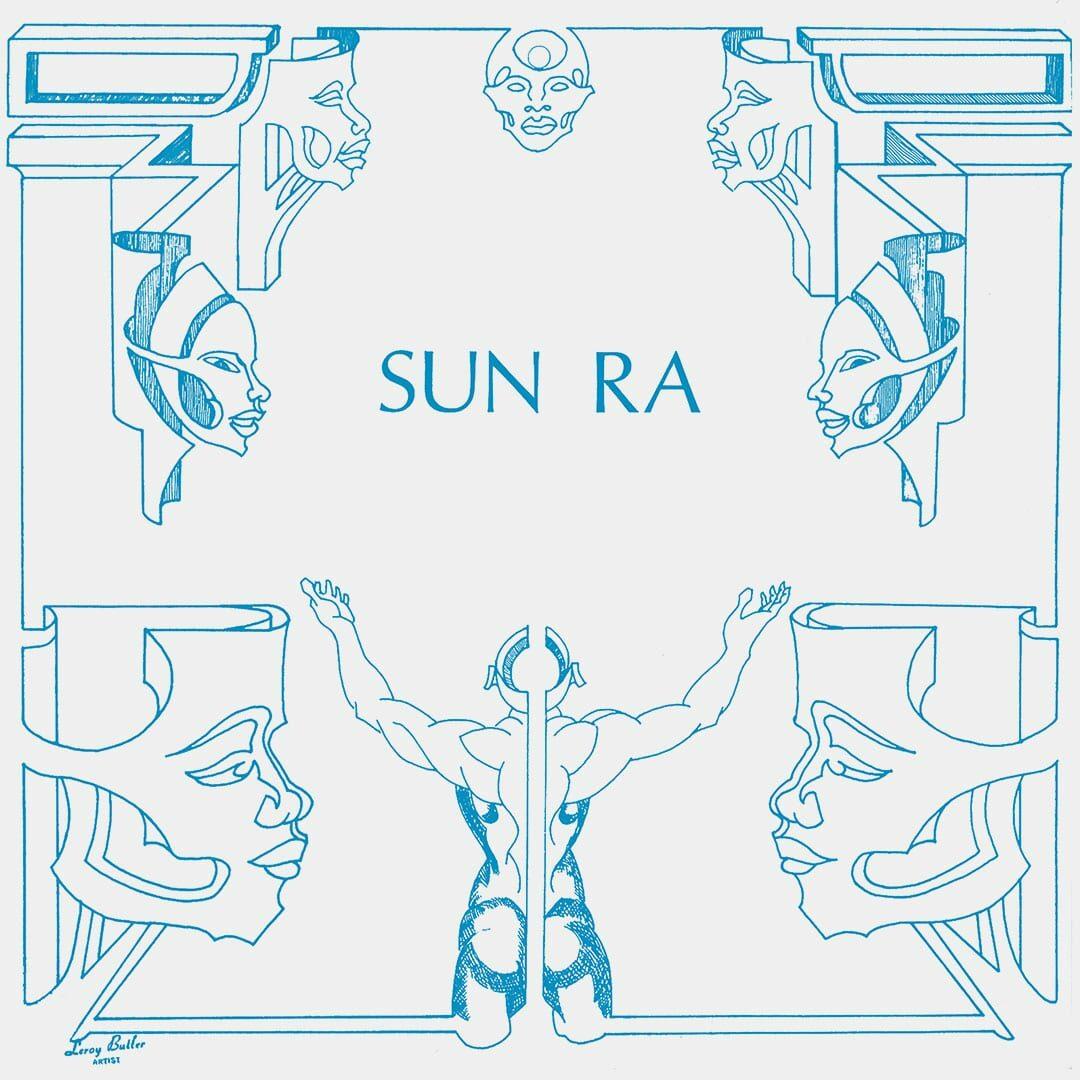 Sun Ra The Antique Blacks Art Yard LP, Reissue Vinyl