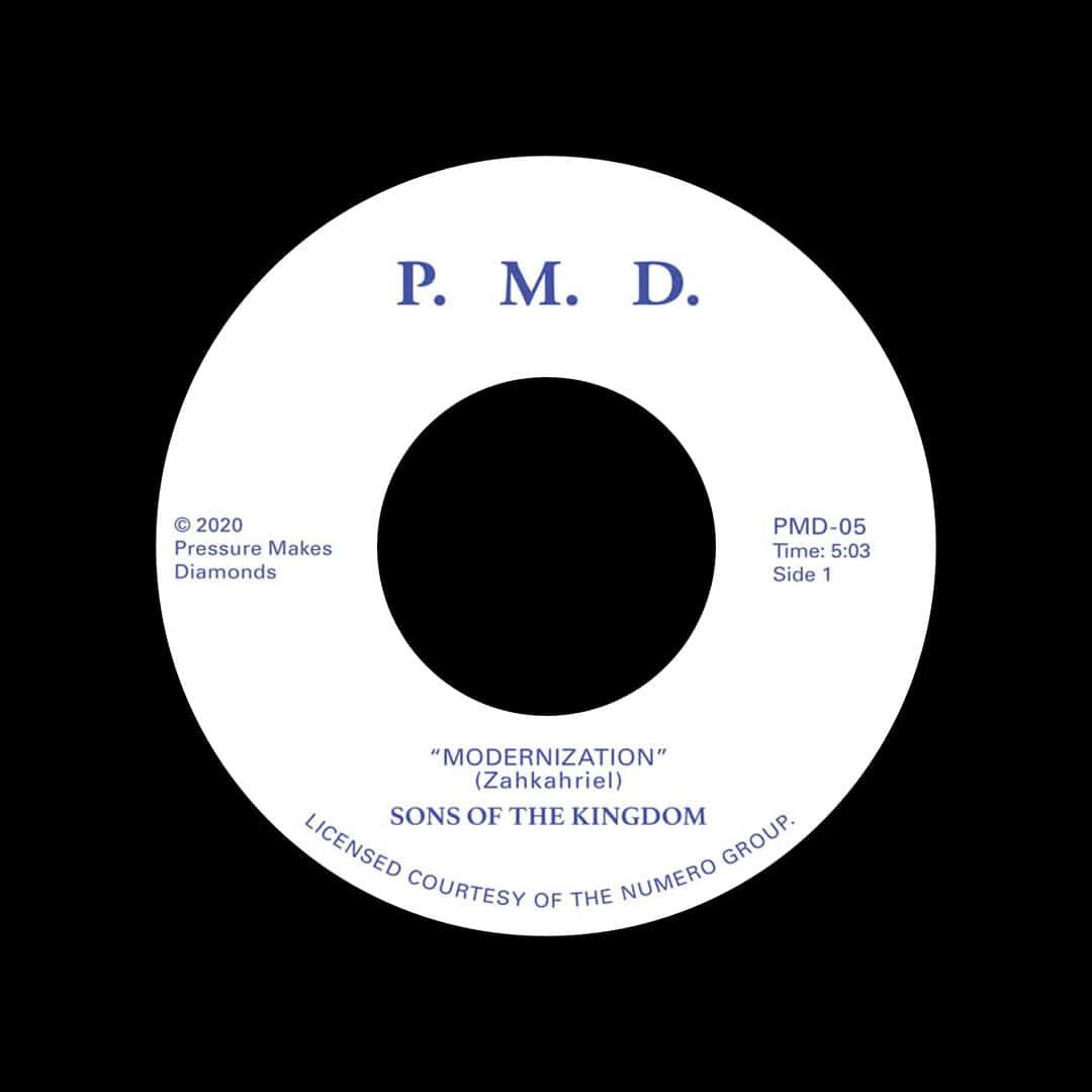 "Sons Of The Kingdom Modernization / Hey There Pressure Makes Diamonds 7"", Reissue Vinyl"