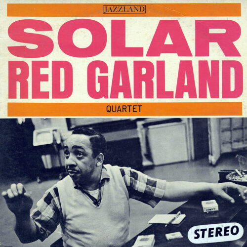 Red Garland Quartet Solar Jazzland LP, Reissue Vinyl