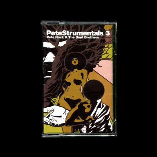 Pete Rock PeteStrumentals 3 Tru Soul Records Cassette Vinyl