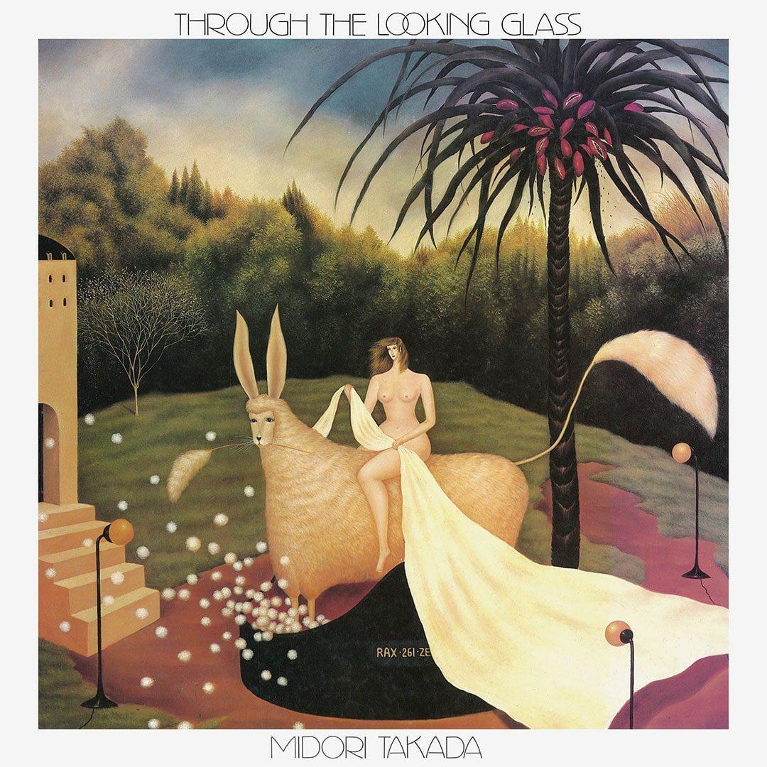 Midori Takada Through The Looking Glass Palto Flats, WRWTFWW LP, Reissue Vinyl
