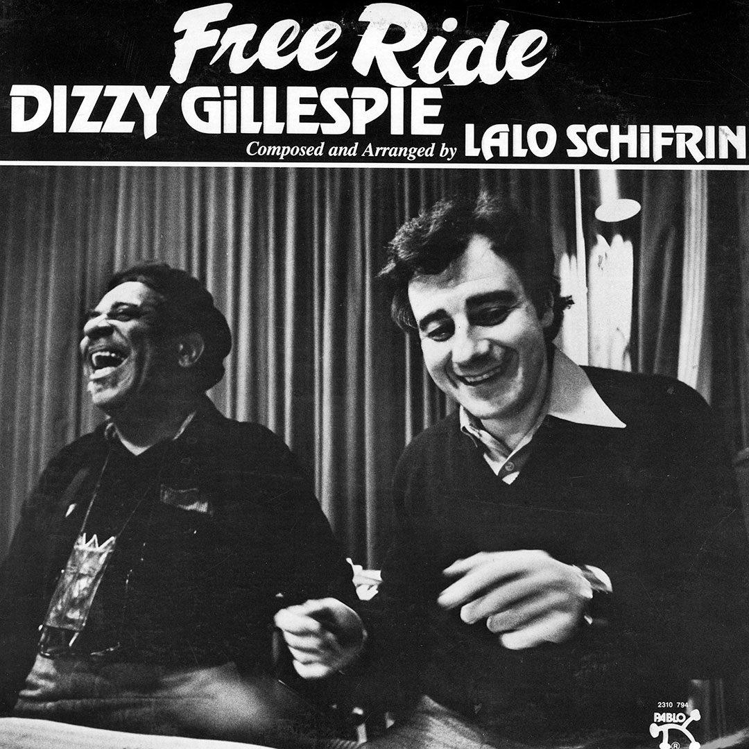 Dizzy Gillespie Free Ride Pablo Records LP, Reissue Vinyl