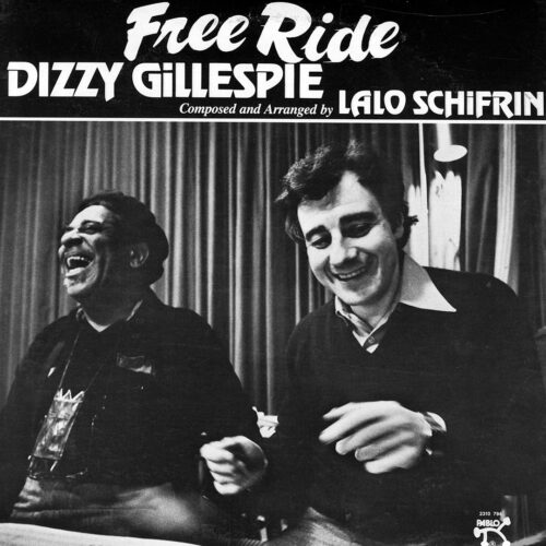 Dizzy Gillespie Free Ride Pablo Records LP, Reissue Vinyl