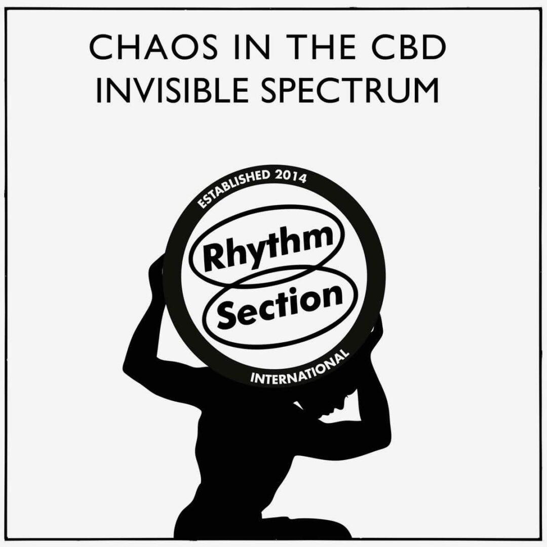 "Chaos In The CBD Invisible Spectrum Rhythm Section International 12"", Repress Vinyl"