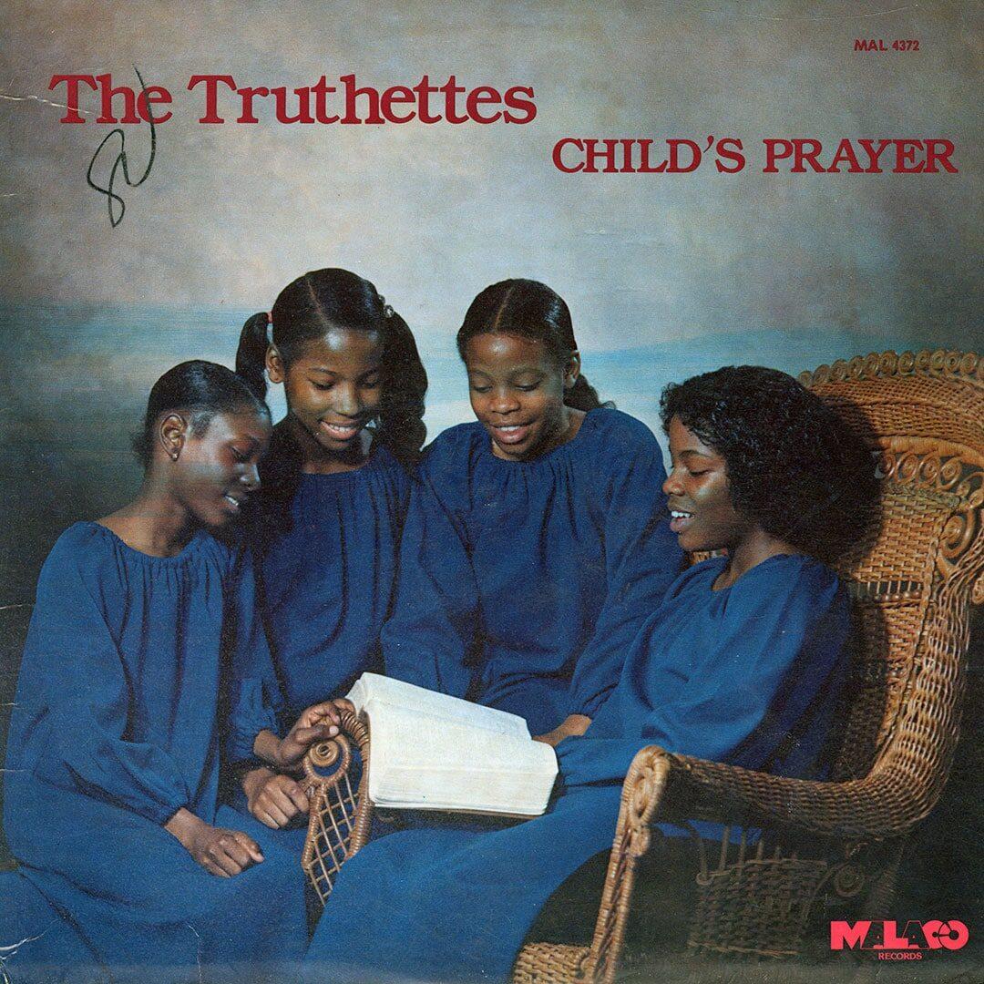 The Truthettes Child's Prayer Malaco Records LP Vinyl