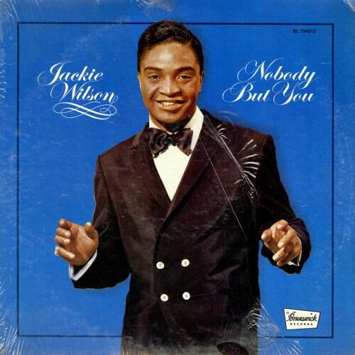 Jackie Wilson Nobody But You Brunswick LP Vinyl