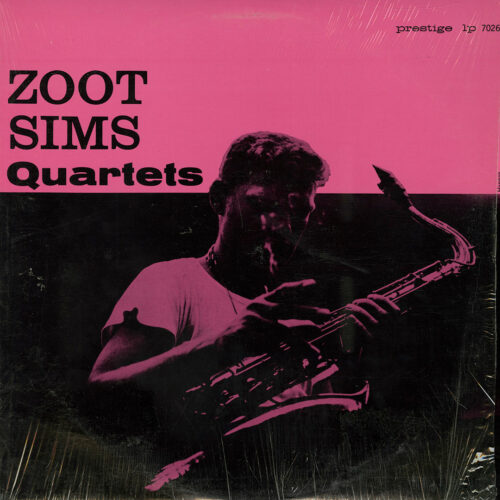 Zoot Sims Quartets Original Jazz Classics LP, Reissue Vinyl