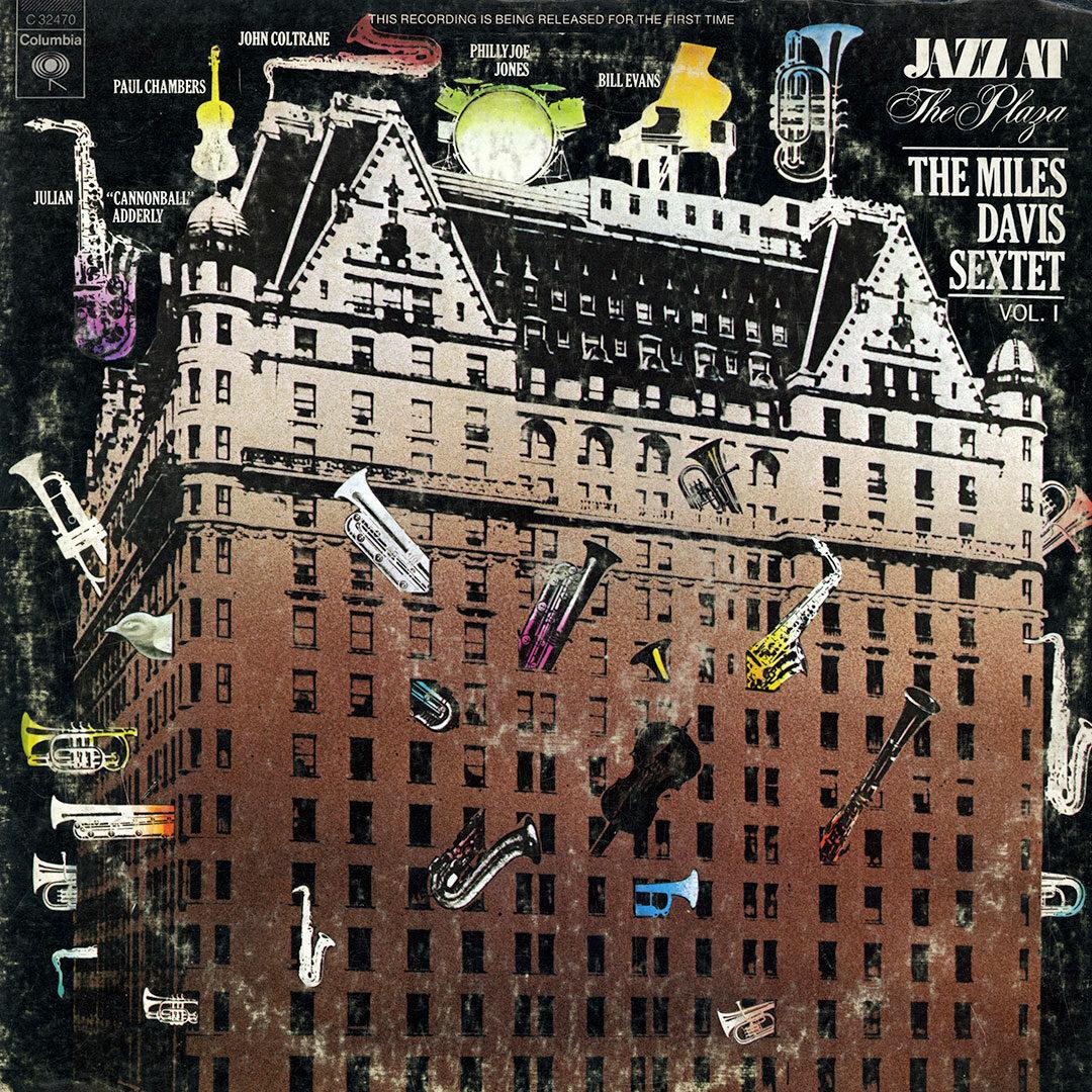The Miles Davis Sextet Jazz at The Plaza, Vol. 1 Columbia LP Vinyl