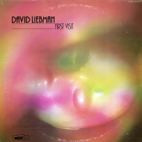 David Liebman First Visit West 54 LP, Reissue Vinyl