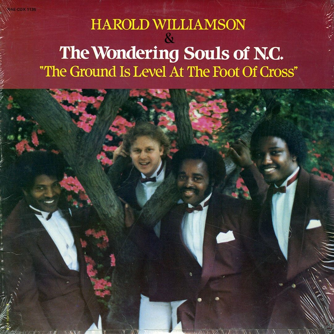Harold Williamson The Ground Is Level At Foot Of Cross Rae-Cox Records LP Vinyl