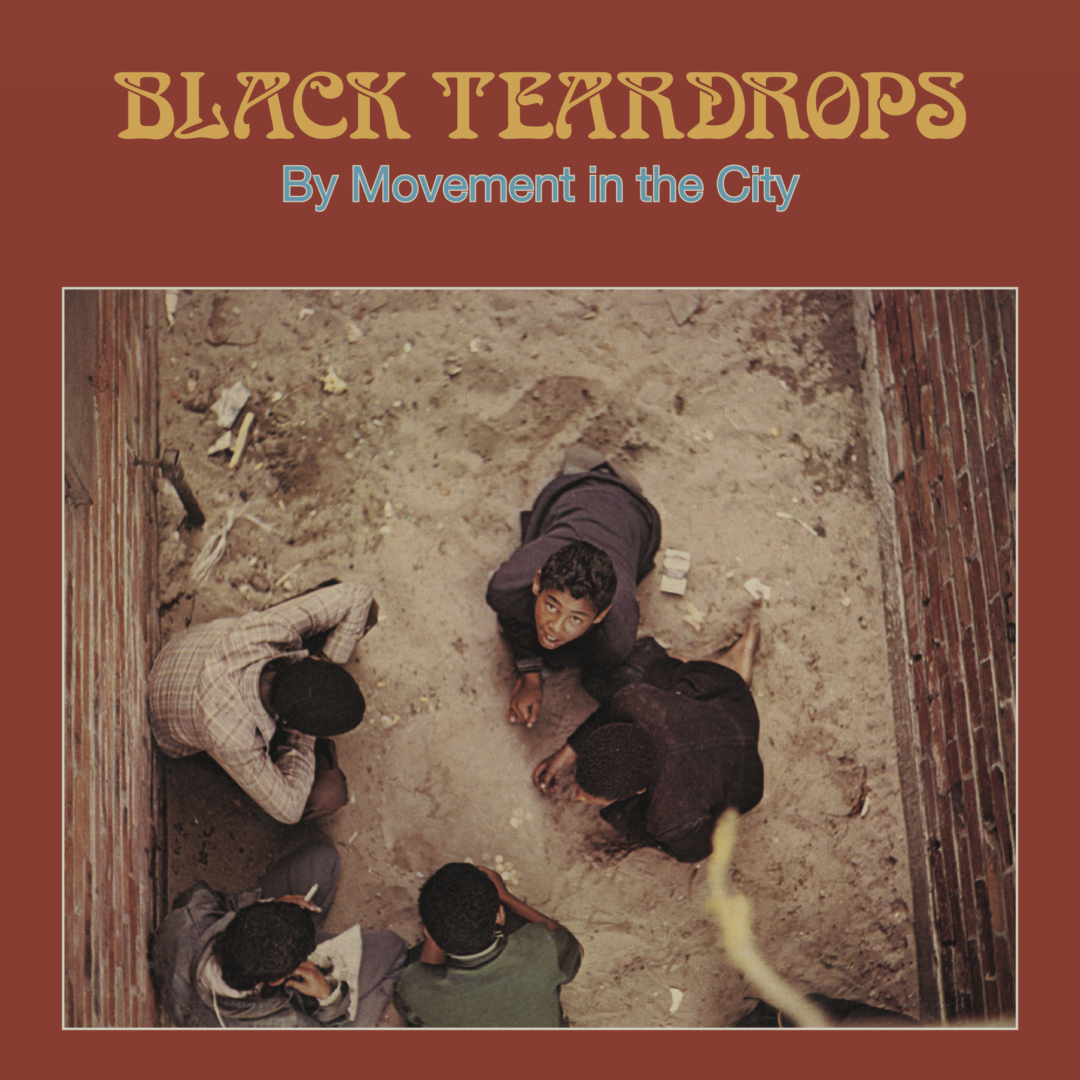 Movement In The City Black Teardrops Sharp-Flat Records LP, Reissue Vinyl