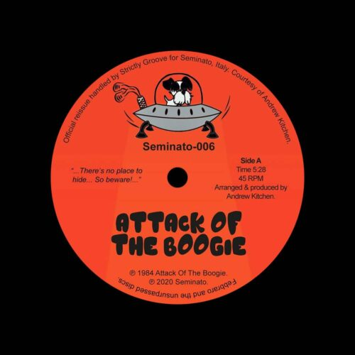 "Andrew Kitchen Attack Of The Boogie Seminato 12"", Reissue Vinyl"