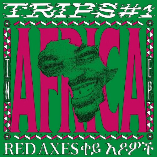 """Red Axes Trips #1: In Africa EP !K7 Records 12"""", Repress Vinyl"""