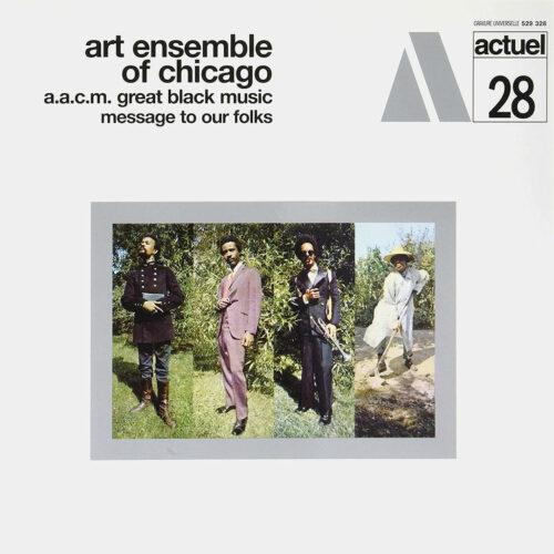 Art Ensemble Of Chicago Message To Our Folks BYG Records LP, Reissue Vinyl