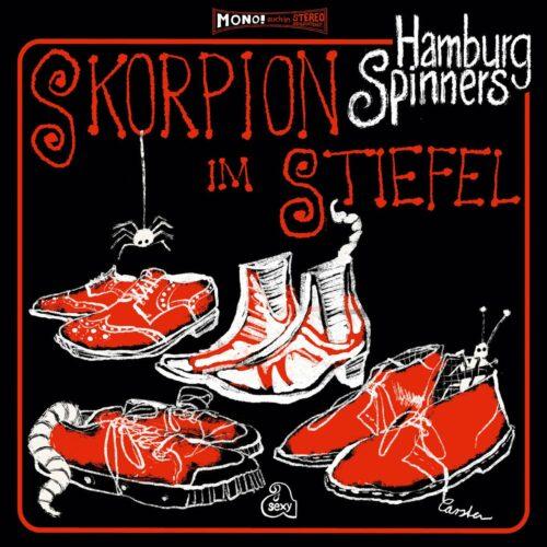 Hamburg Spinners Skorpion Im Stiefel Légère Recordings LP Vinyl