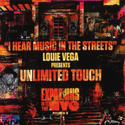 """Unlimited Touch I Hear Music In The Streets (Louie Vega mixes) Nervous Records 12"""", Reissue Vinyl"""
